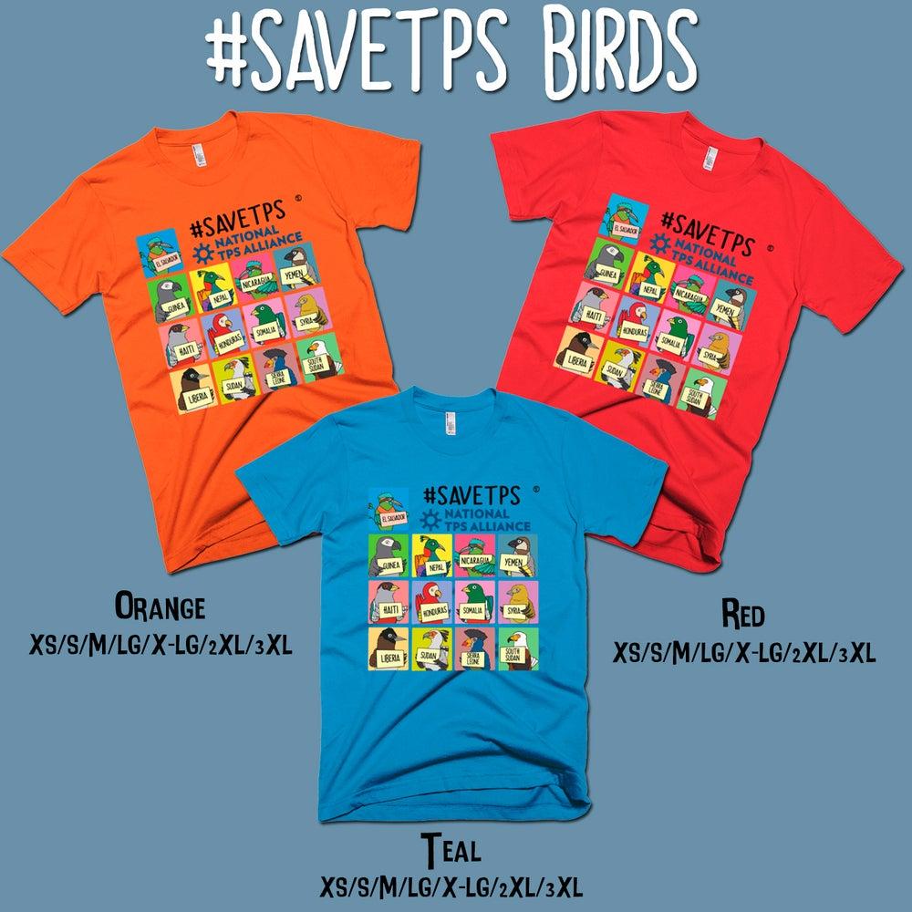 Image of #SAVETPS Birds T-shirt
