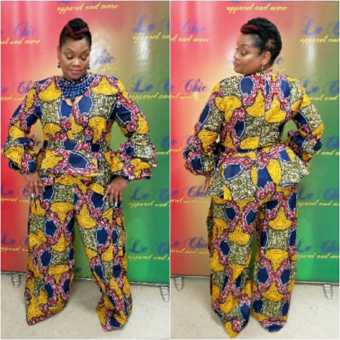 Image of Ms Africa 2 piece
