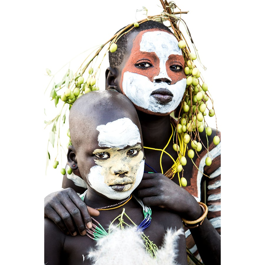 Image of PHOTOGRAPH - ZANE & LOLA - YOUNG SURI CHILDREN