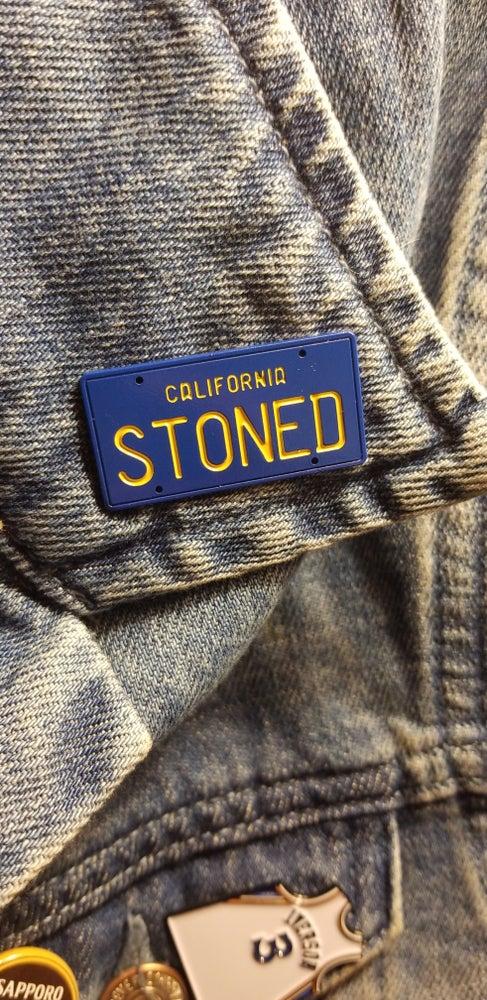 Image of CALIFORNIA PLATE PIN