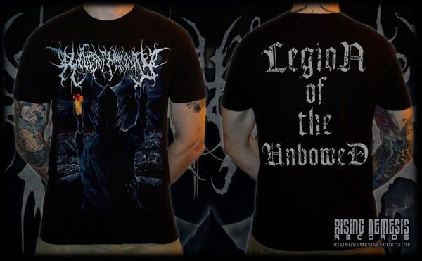 Image of RELICS OF HUMANITY - Legion Of The Unbowed T-Shirt [pre-order]