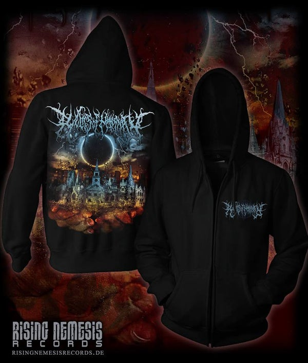 Image of RELICS OF HUMANITY - Bring Me The Sacred Ashed Zipper [pre-order]