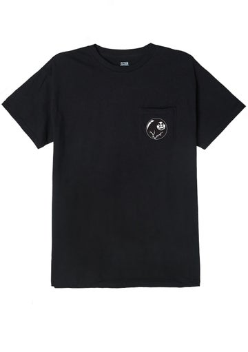Image of OBEY - 8 BALL ICON TEE (BLACK)