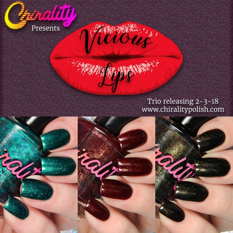 Image of Vicious Lips Collection - Full Size