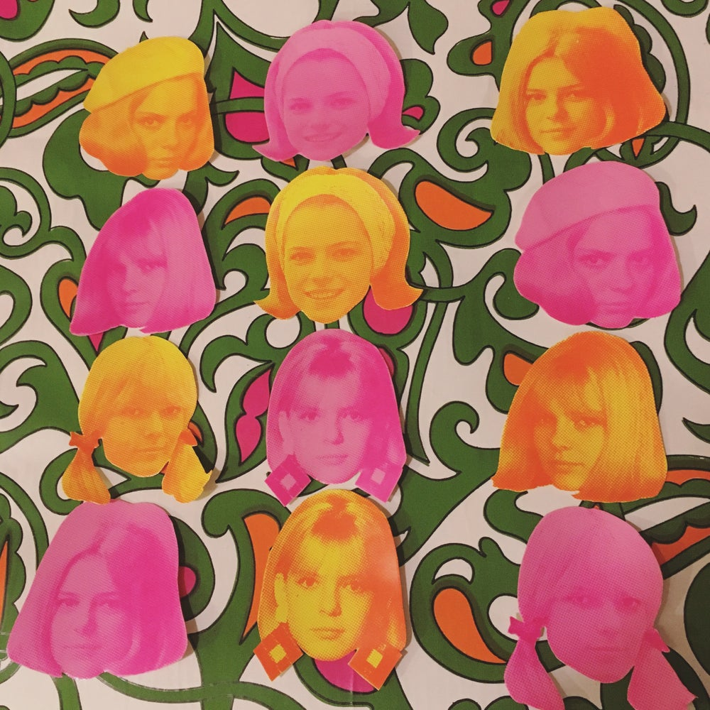 Image of France Gall sticker pack