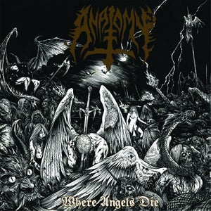 "Image of ANATOMY - ""WHERE ANGELS DIE "" CD REISSUE 2018"