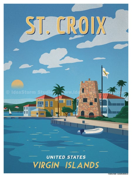 Image of St. Croix Poster