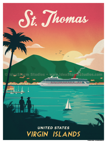 Image of St. Thomas Poster