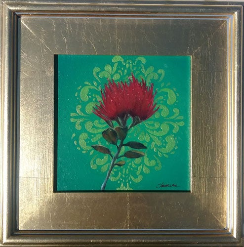 Image of Lehua (8 in x 8 in)