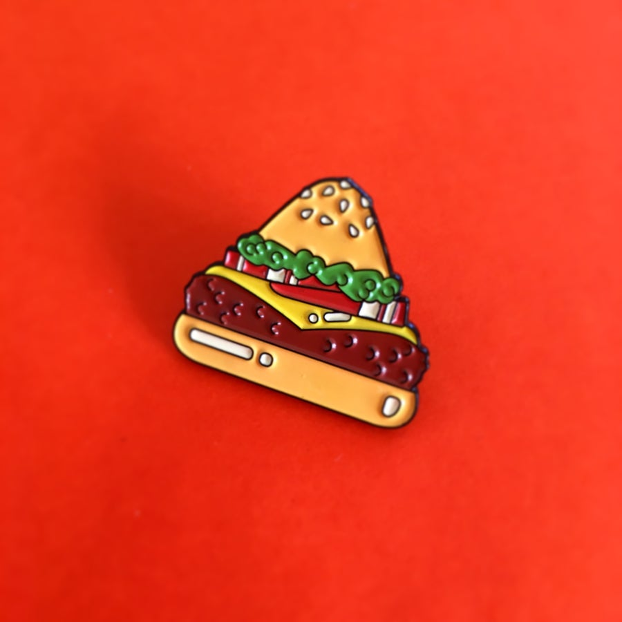 Image of Food Pyramid Pin