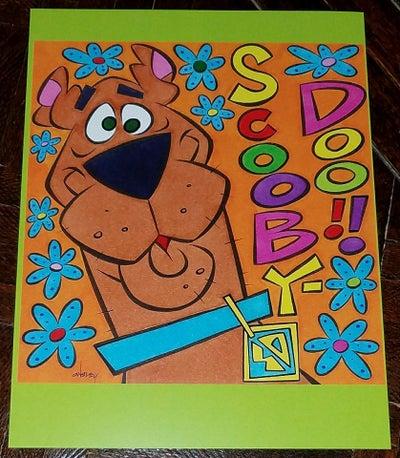 Image of SCOOBY-DOO 8.5x11 SKETCHBOOK PRINT