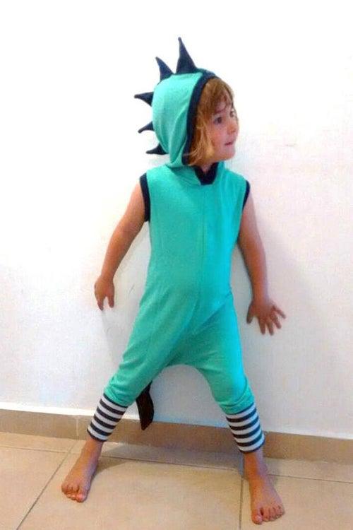 Image of Green dragon summer suit חליפת קיץ דרקון ירוק