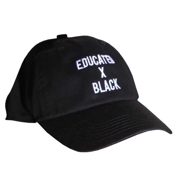 Image of Educated x Black Dad Hat