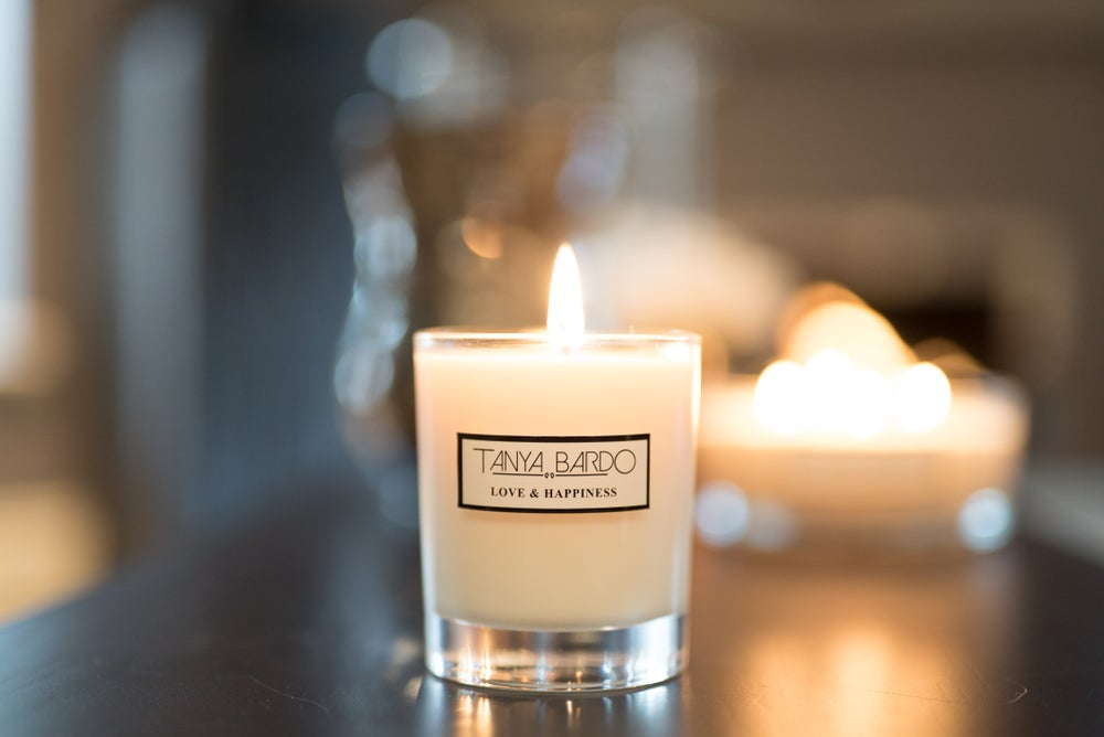 Image of NEW - Love & Happiness Pot Candle - White Jasmine
