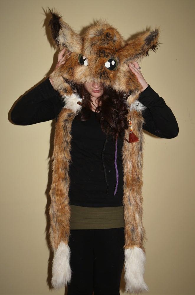 Image of Green-Eyed Fennec Fox Bolli Bear