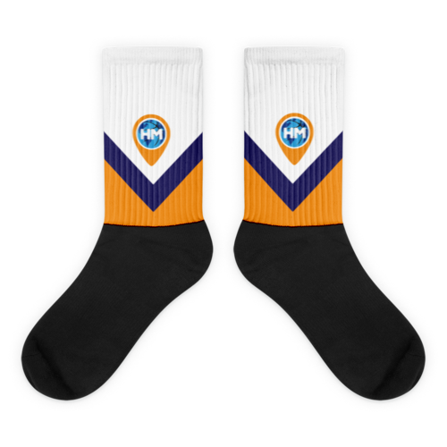 Image of Swag Logo Socks White