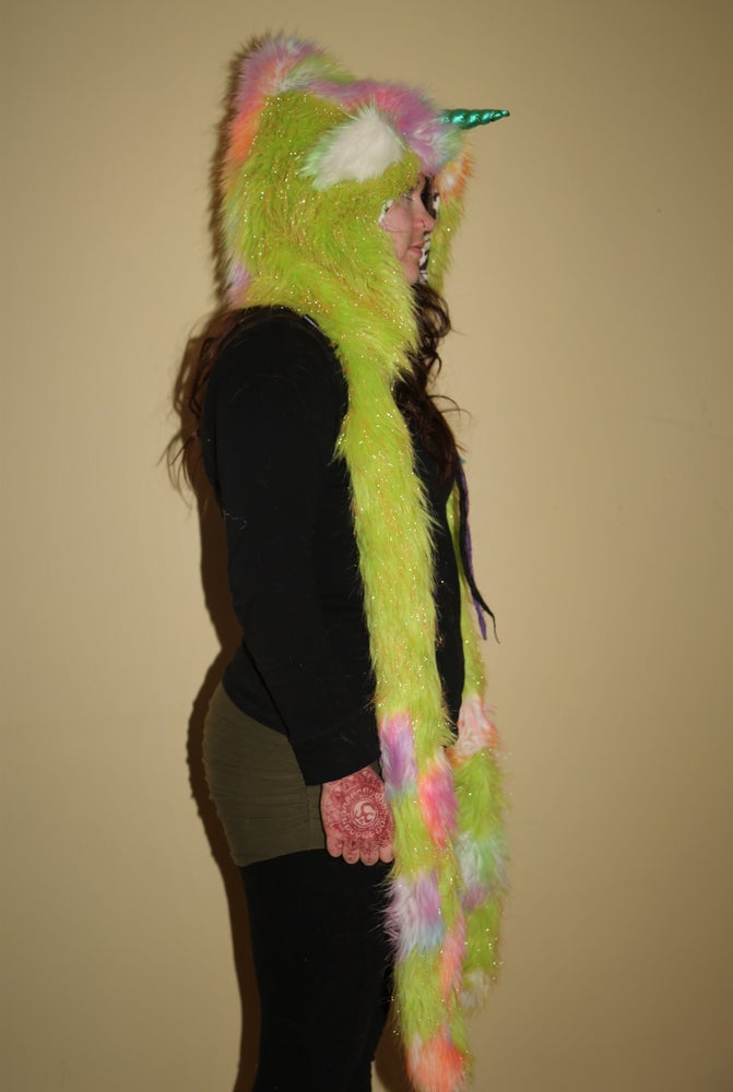 Image of Sparkle Green Unicorn Bolli Bear