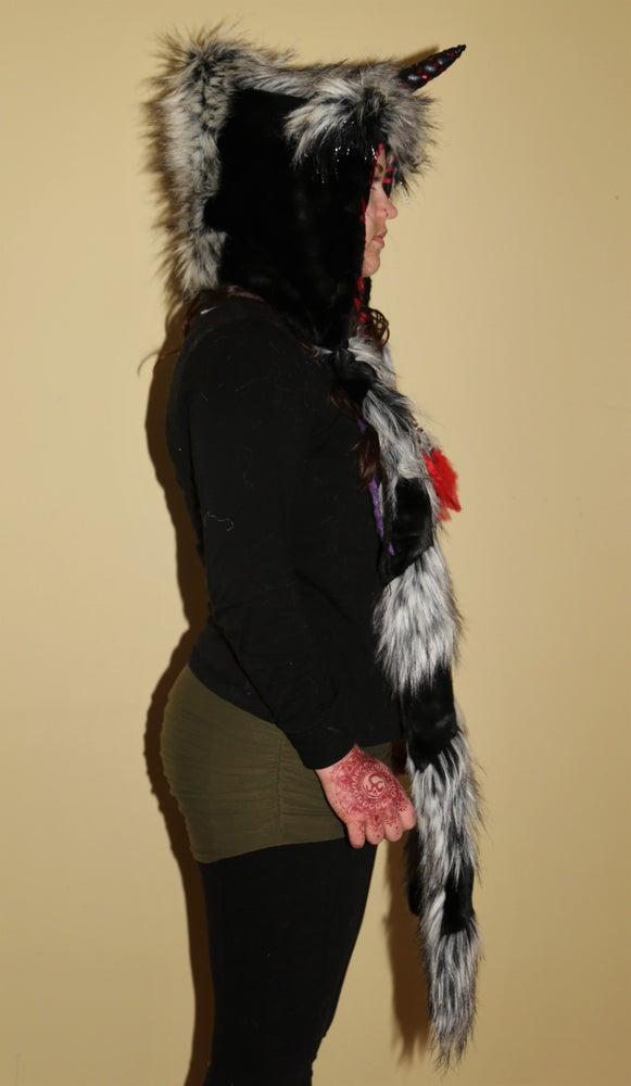 Image of Black/Grey Unicorn Bolli Bear
