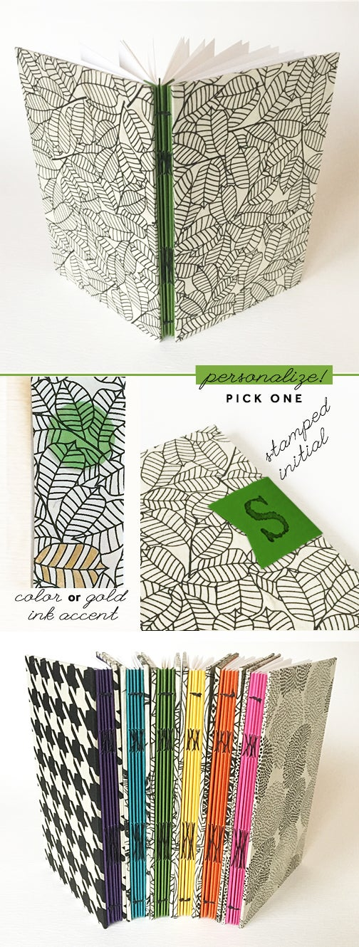 Image of Pop of Green Notebook