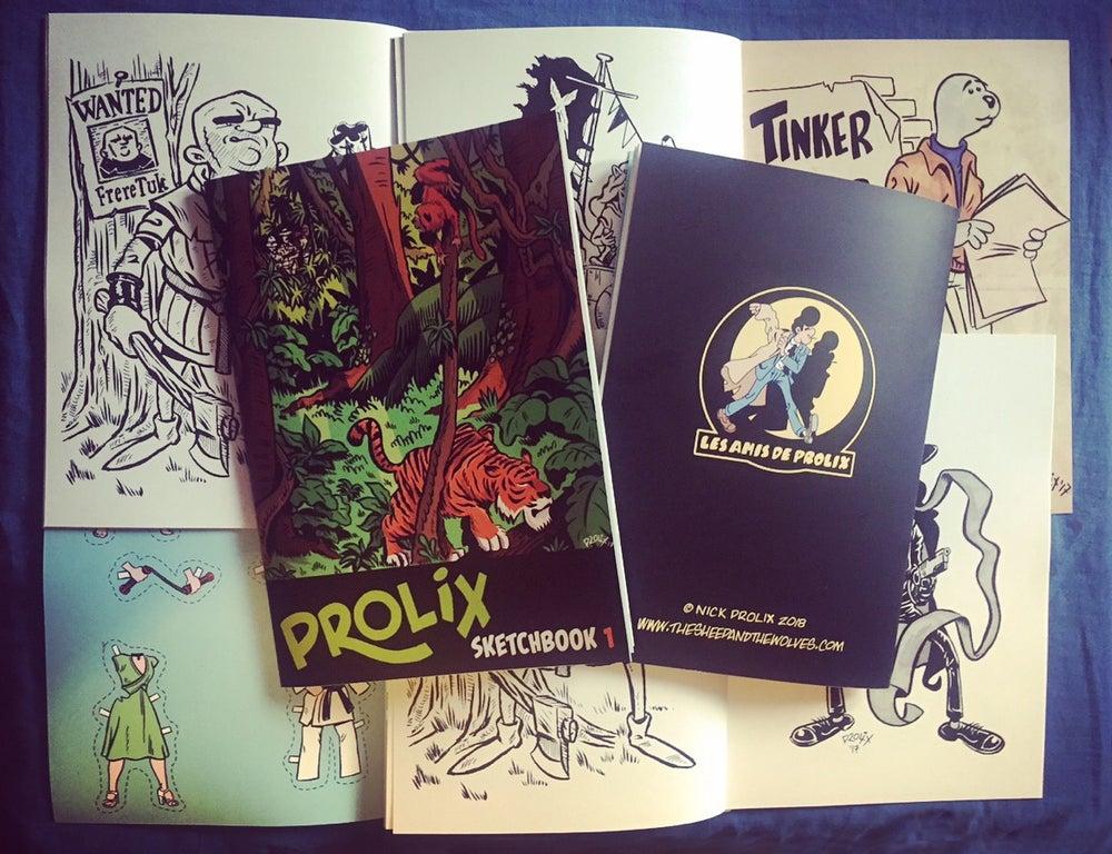 Image of Prolix Sketchbook 01