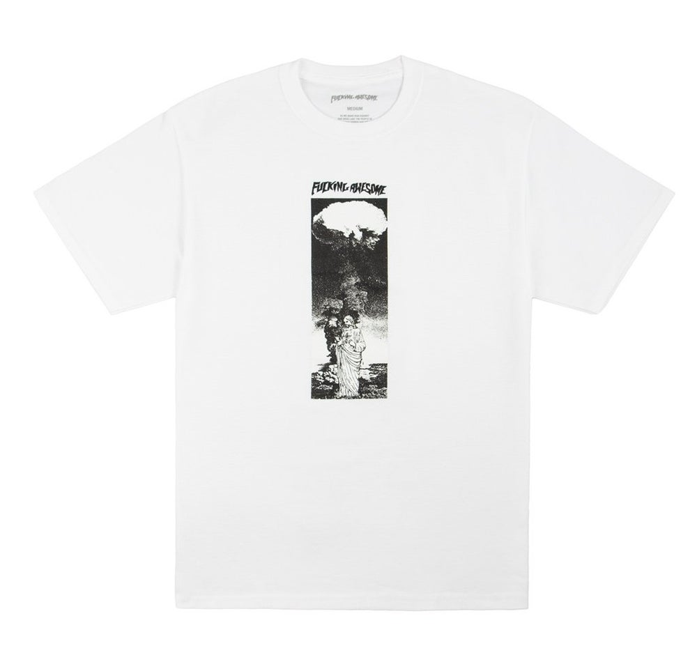 Image of FUCKING AWESOME - LORD OF BOMBS TEE (WHITE)