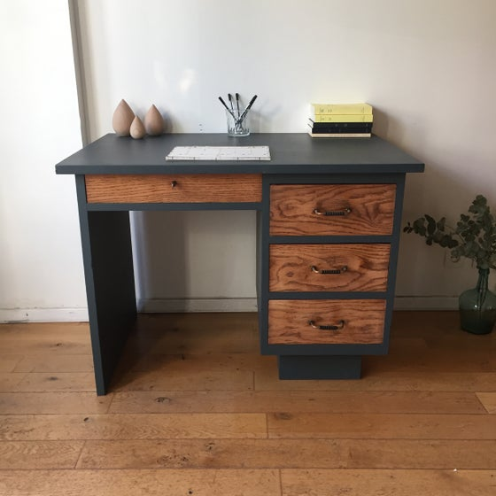 Image of Jean, bureau en bois