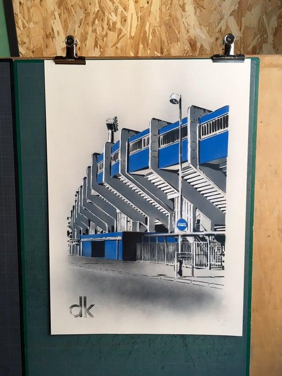 Image of Stade Marcel Tribut - Dunkerque - Papier Ivoire
