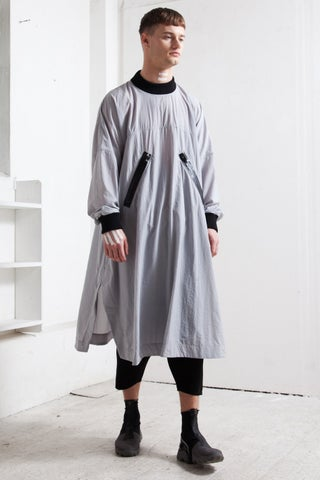 WATER PROOF DRESS grey