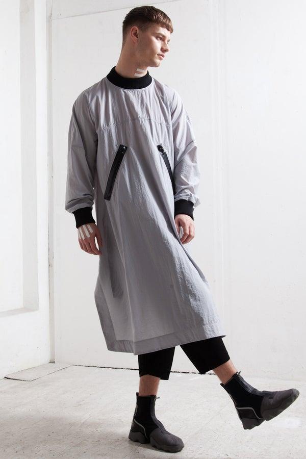 WATER PROOF DRESS grey