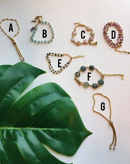 Image of NZAMI Crystal Bracelets