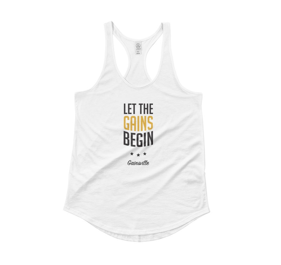 Image of Let The Gains Begin - Tank (Women's)