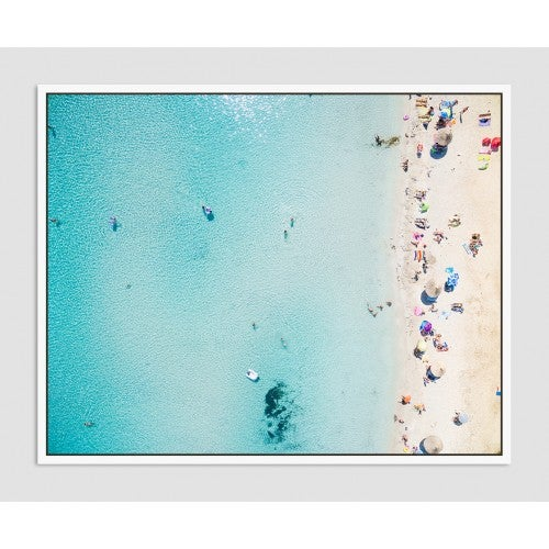 Image of Ocean Beach View Framed