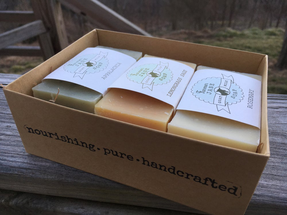 Image of 3 bar Gift Box