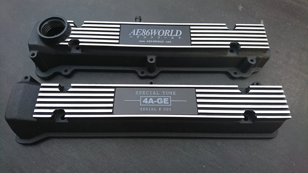 Image of AE86 WORLD 4AGE Cam Covers
