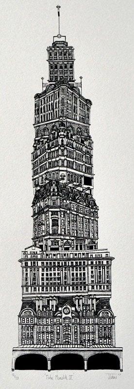 Image of James Johns: Tube Monolith II