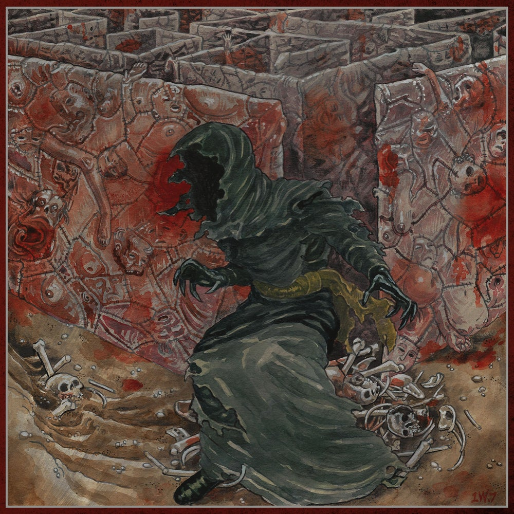 Image of Our Place of Worship is Silence - With Inexorable Suffering LP *Preorder