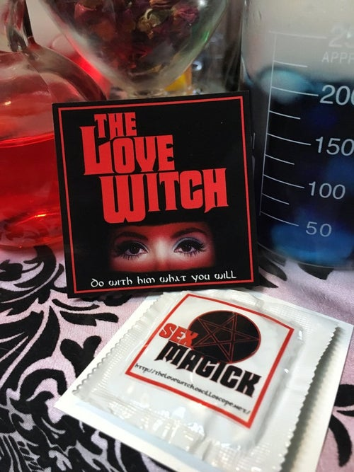 Image of The Official Love Witch Pin & Love Spell Bundle