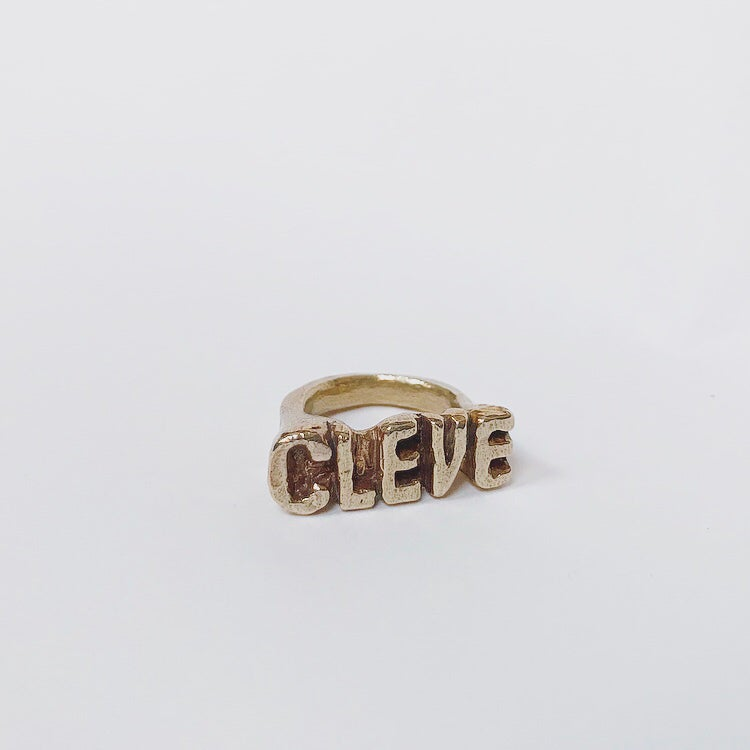 """Image of """"CLEVE"""" and """"LAND"""" Rings"""