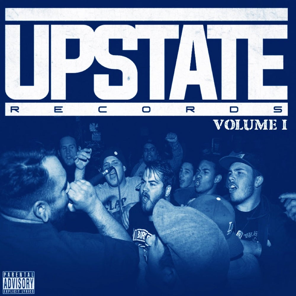 Image of Upstate Records 'Volume 1' Comp CD