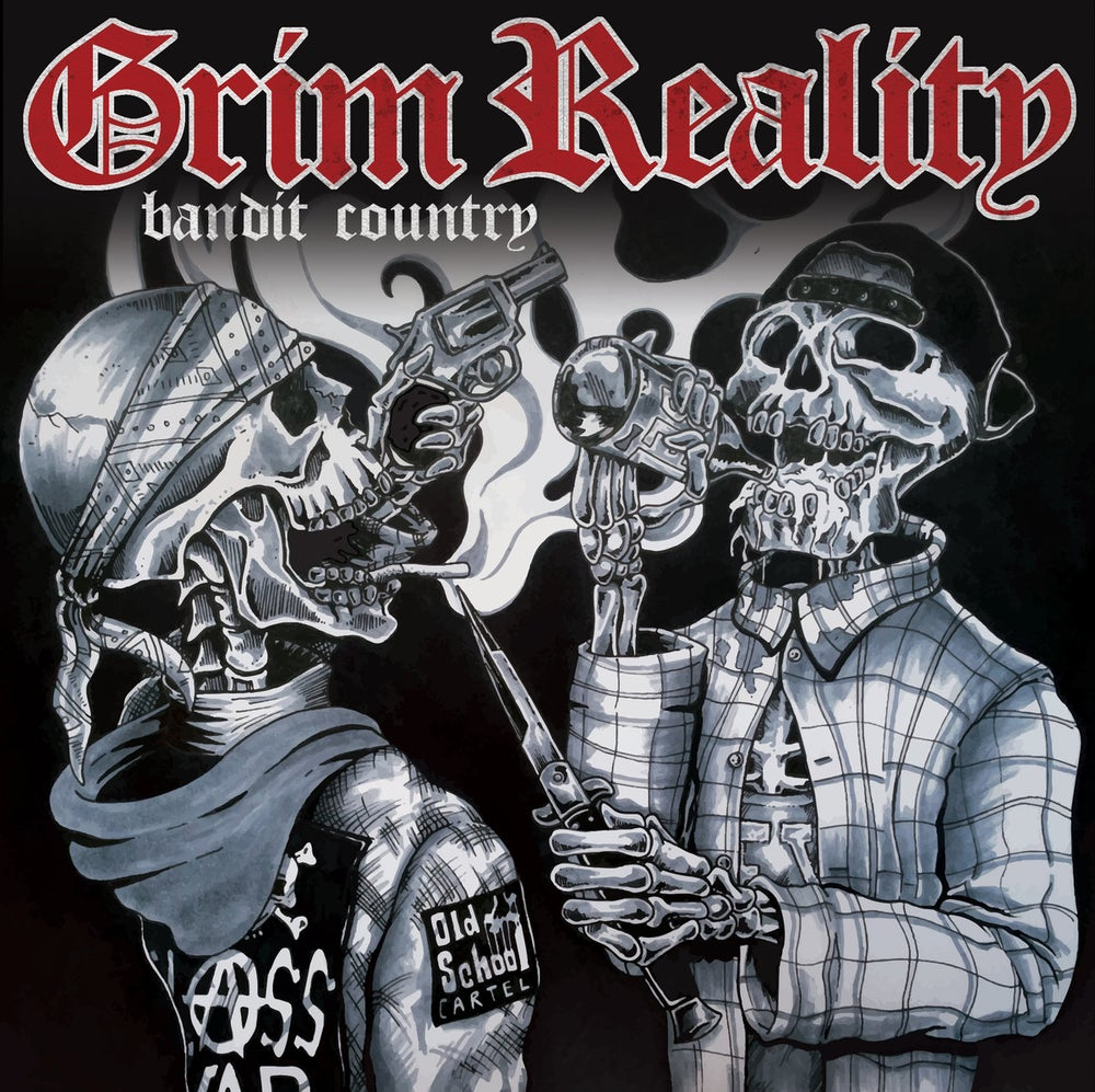 """Image of Grim Reality - Bandit Country 7"""" Vinyl"""
