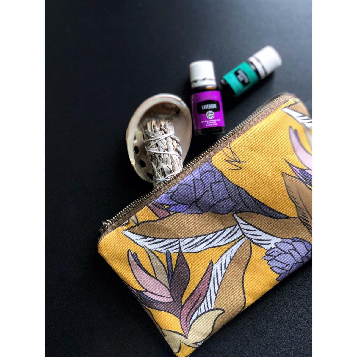 "Image of Wristlet in ""Mustard Bloom"""