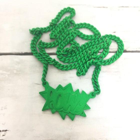 Image of AMBUSH POW! SERIES Chain VINTAGE Green