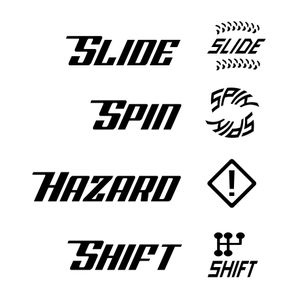 Image of Gaslands custom skid dice