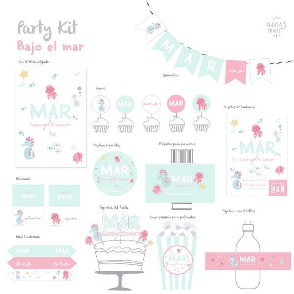 Image of Party Kit Bajo el Mar