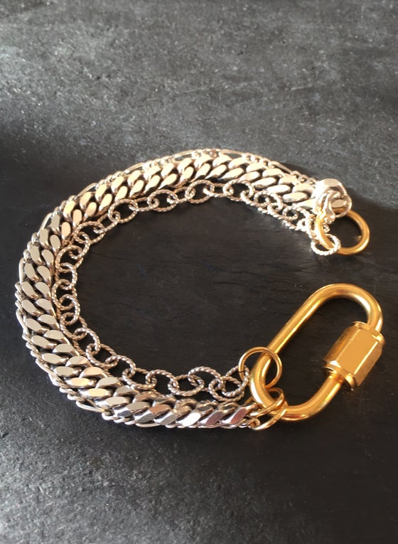 Image of NEW - BOUND BRACELET - triple