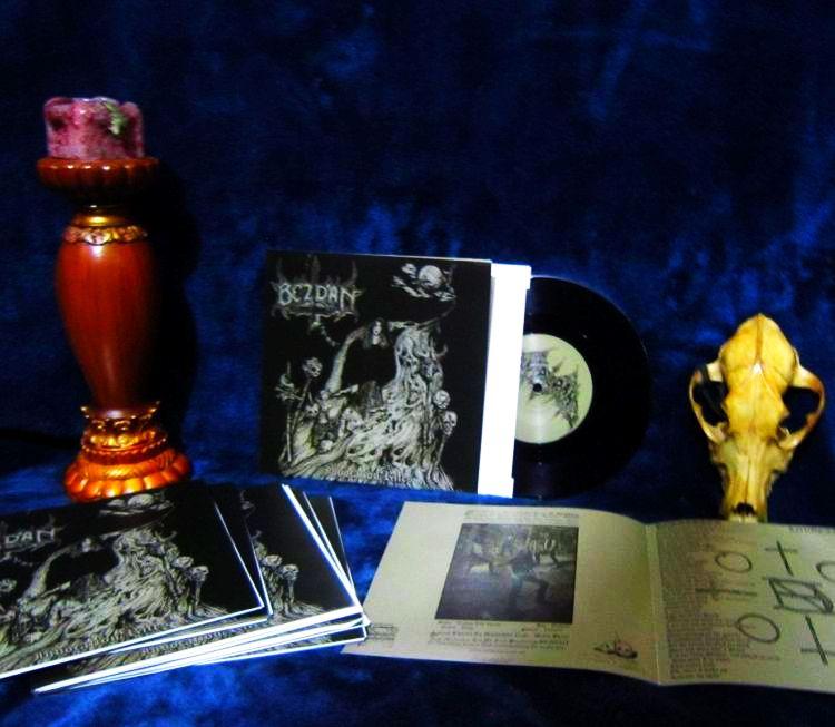 "Image of BEZDAN - Invocation Rites 7"" EP"