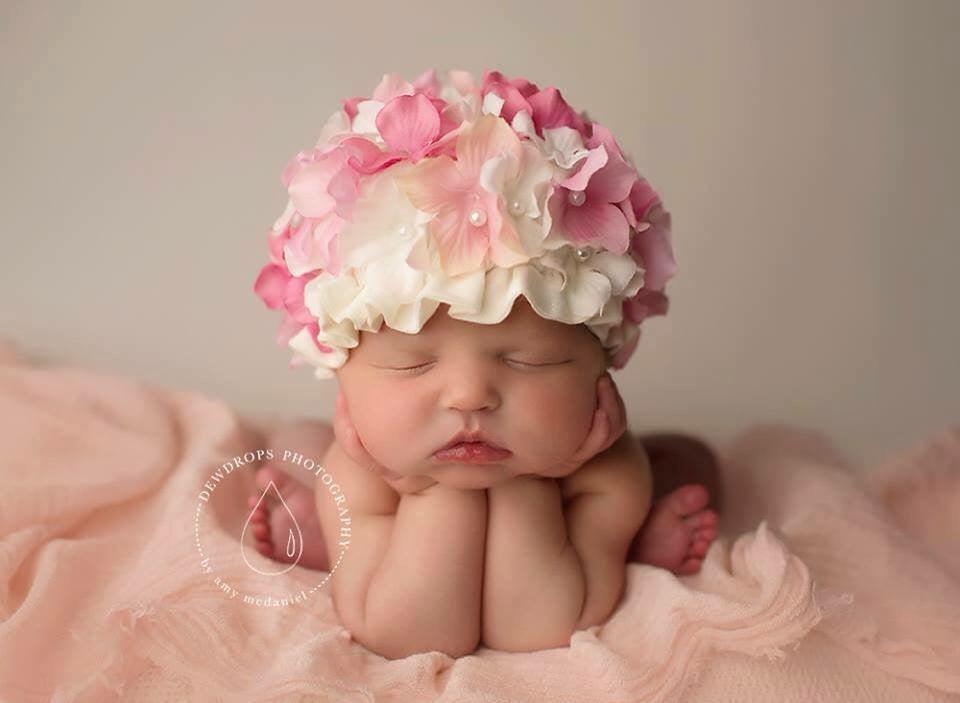 Image of Flower hat