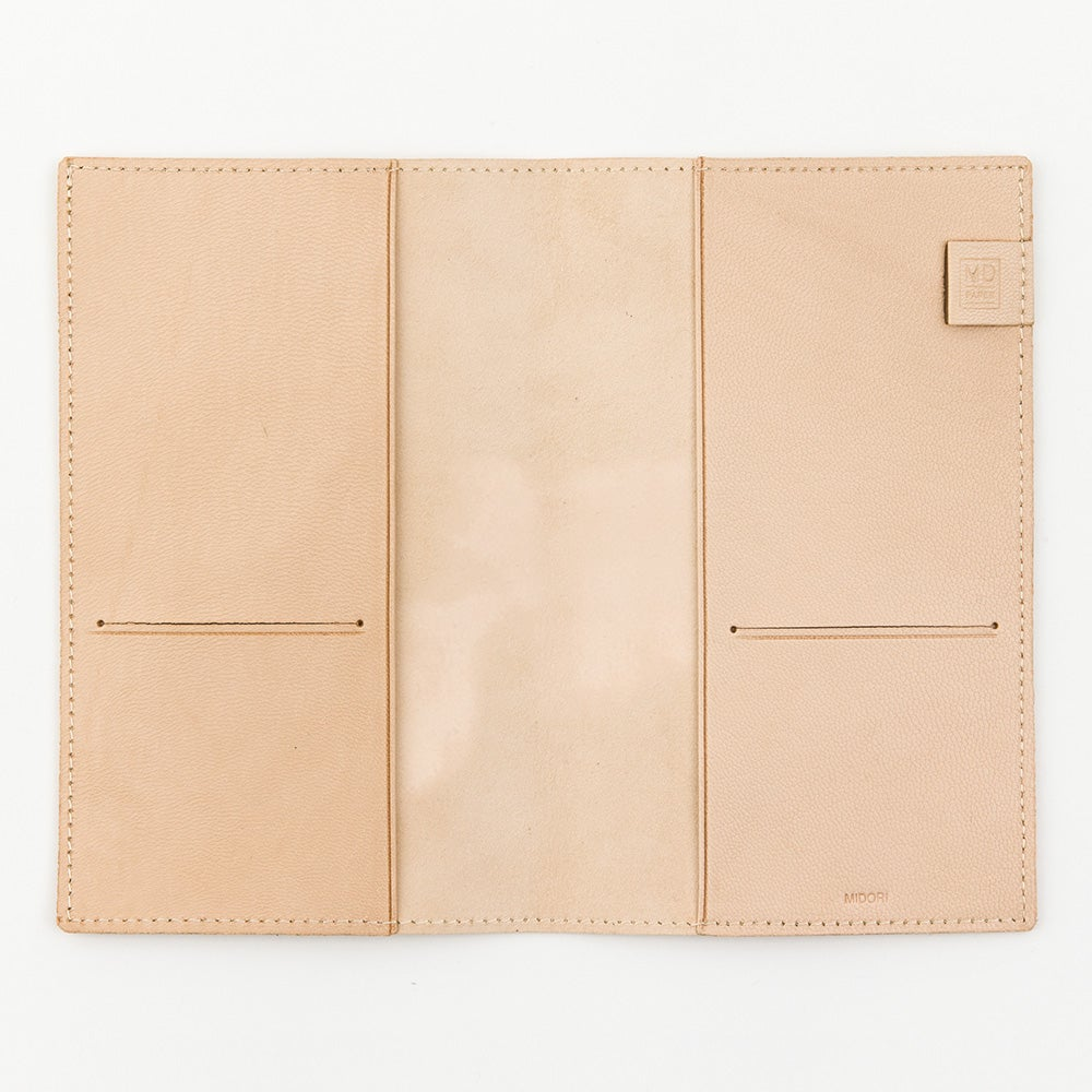 Image of MD Notebook A5 Goat Leather Cover