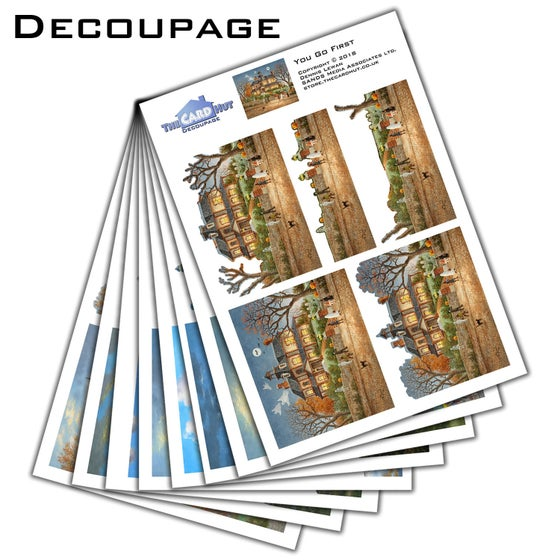 Image of Dennis Lewan decoupage collection