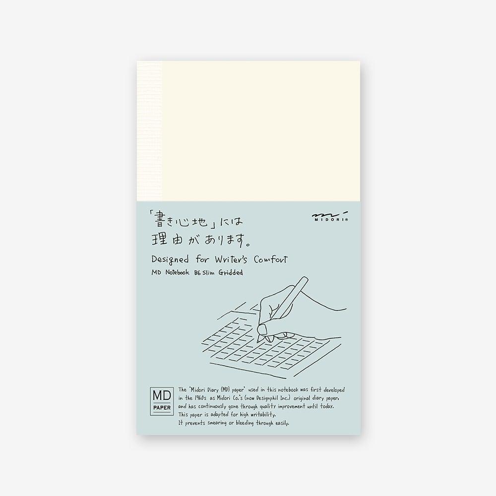 Image of MD B6 Slim Grid Notebook
